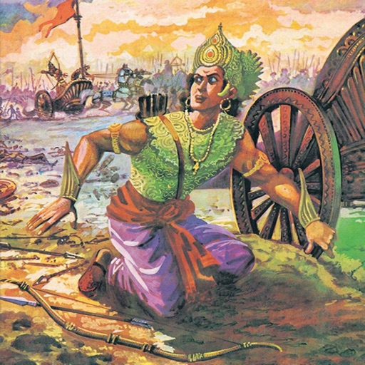 Karna (The Tragic Hero) - Amar Chitra Katha Comics