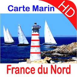 Marine: France du Nord HD - GPS Map Navigator