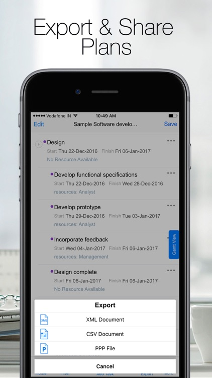 Project Planning Pro(B2B) - Task Management App screenshot-4