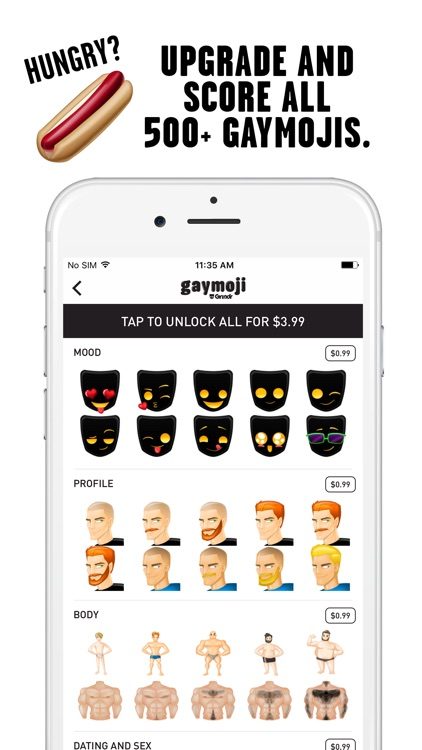 Gaymoji by Grindr screenshot-3