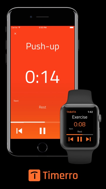 Timerro - Interval Timer for Apple Watch & iPhone