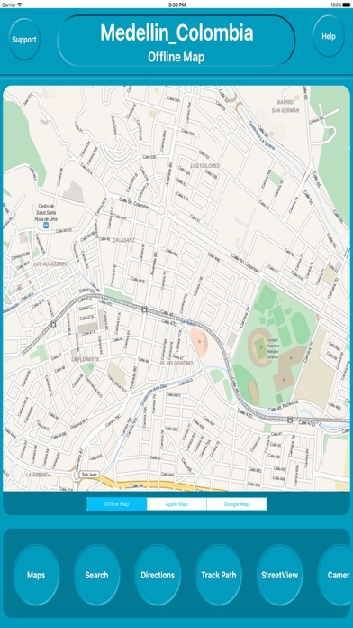 Medellin Colombia Offline City Map Navigation review screenshots