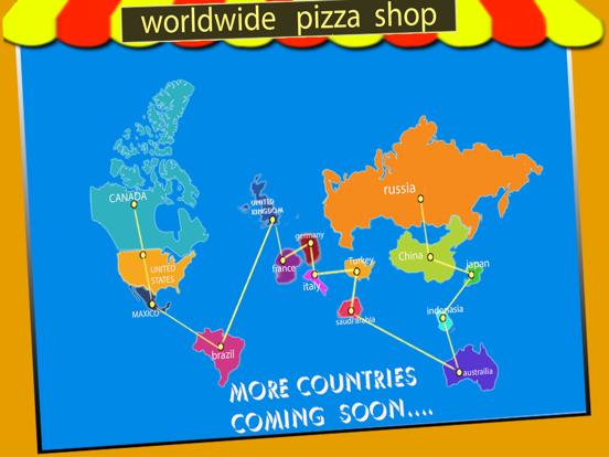 私のピザショップ世界のシェフ、ファーストフードクッキングゲームのおすすめ画像2