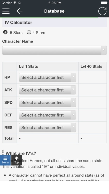 Fe Heroes Iv Calculator >> Iv Calculator Database For Fire Emblem Heroes By Yujie Pan
