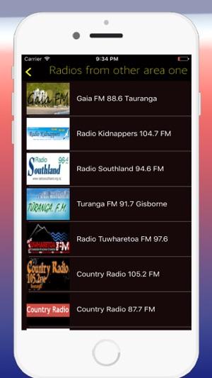 Radio New Zealand FM - Live Radio Stations Online on the App Store