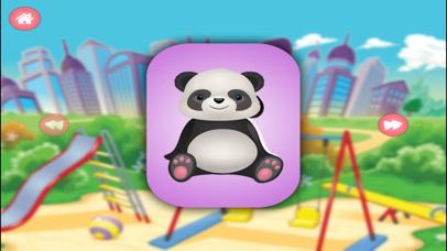Baby Panda Jigsaw Puzzle Town screenshot 1
