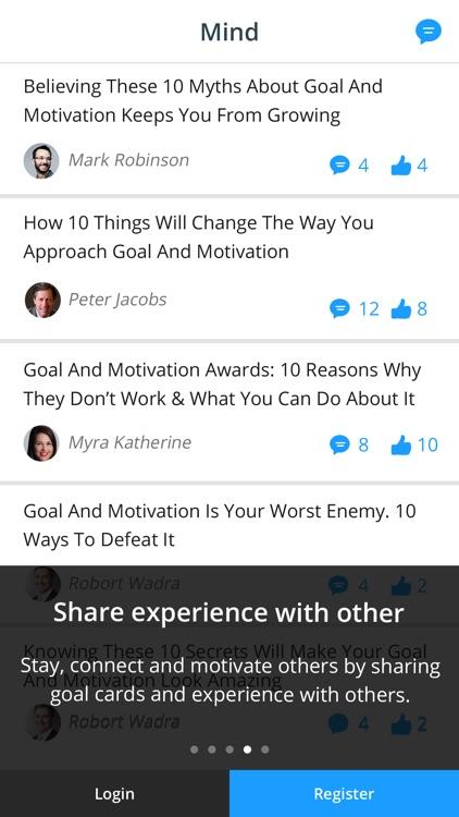 iGoalCard: Daily Life Planner & Goals Tracker screenshot-3