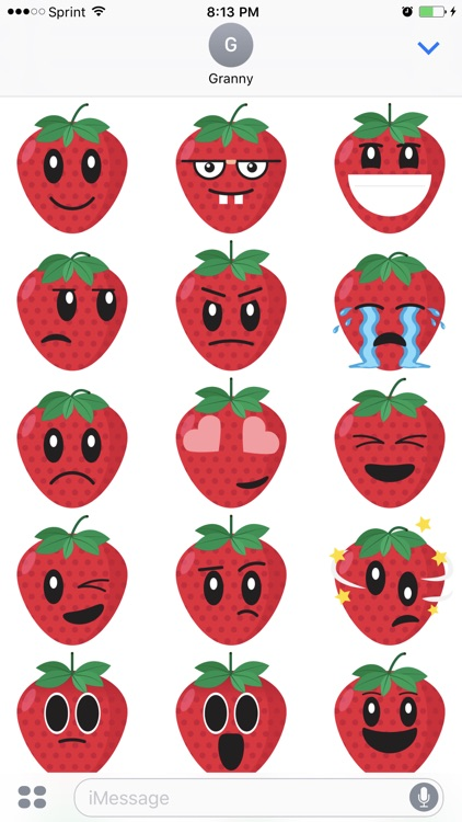 Friendly Fruits Sticker Pack screenshot-3