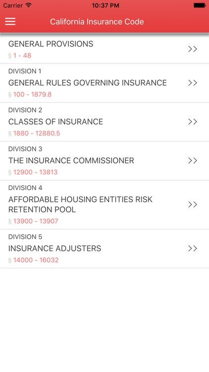 California Insurance Code