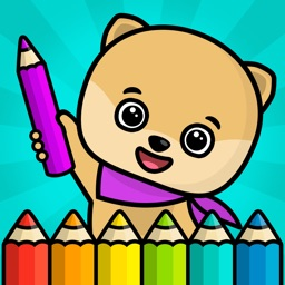 Kids coloring book - games for boys and girls free