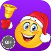 Christmas Stickers &  Emoji : Santa Emoji and Gif