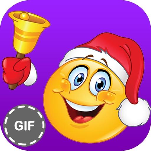 Christmas Stickers & Emoji : Santa Emoji and Gif   Apps