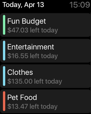 Pennies – Budget and Expenses Screenshot
