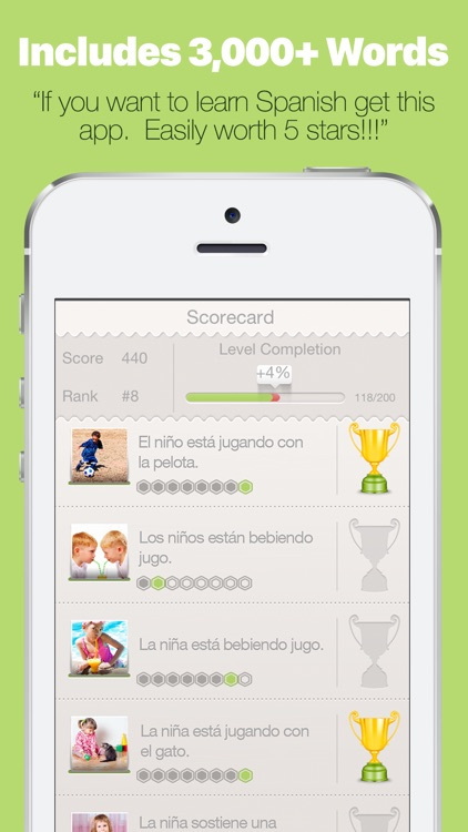 Learn Spanish with Lingo Arcade PRO screenshot-4