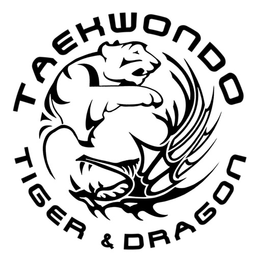 Taekwondo Tiger and Dragon