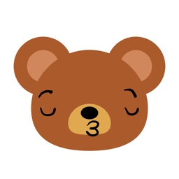 Expressive Teddy Bear - Sticker Pack