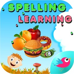 Spelling Learning Foods Phonics Words for Kids