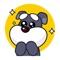 Little Schnauzer - Cute stickers for iMessage