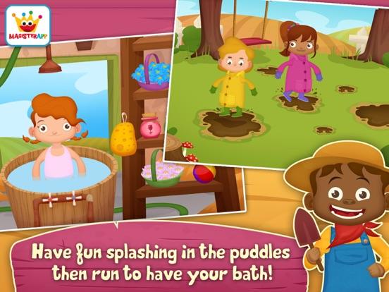 App voor peuters & Dieren Spelletjes: Dirty Farm iPad app afbeelding 5