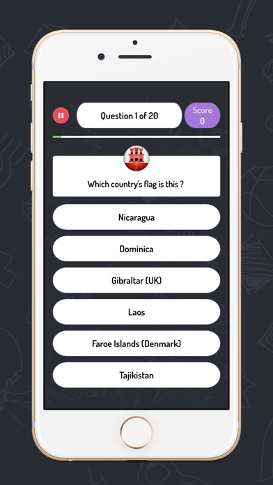 World Quiz - Geography game screenshot two