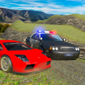 Offroad Police Car Chase Prison Escape Racing Game