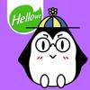 Hellowe Stickers: Penguin Qi