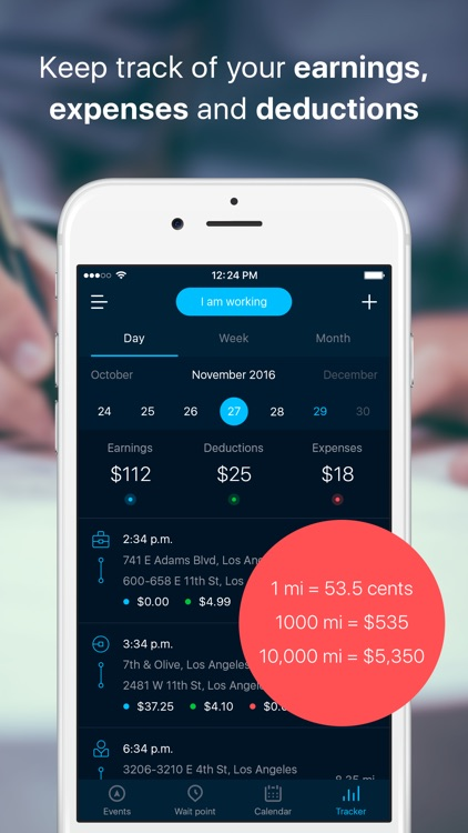 RYDAR – Assistant for rideshare drivers