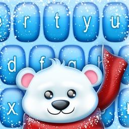 Winter Keyboard Themes: Beautiful Frozen Keypads
