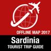 Sardinien Reiseführer + Offline-Karte