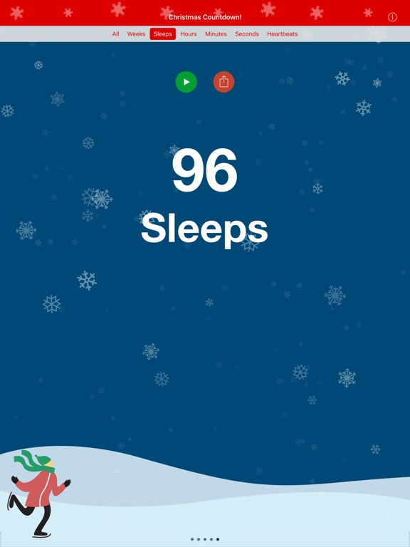 christmas countdown premium ad free screenshot - How Much Time Till Christmas