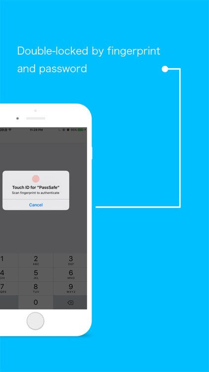 PassSafe - save&store account password manager