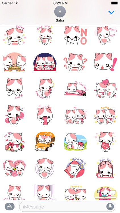 Little Cat Stickers Vol1