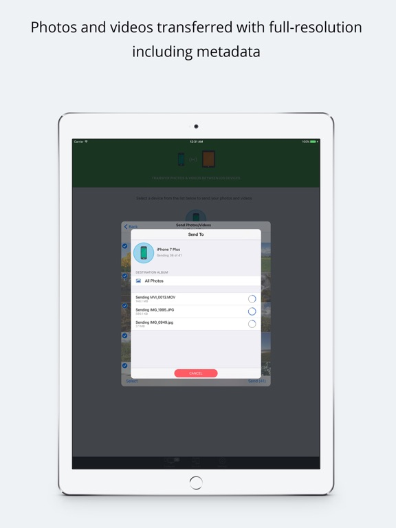 Simple Transfer Pro - Photo Скриншоты11