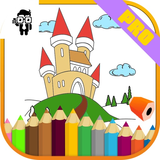 Castle Kids Coloring Book Pro