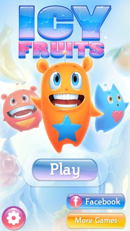 Super Icy Fruits Blast - Match 3 Puzzle Game screenshot-4