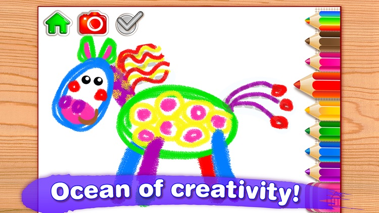 DRAWING for Kids FULL Coloring and Painting Games screenshot-3