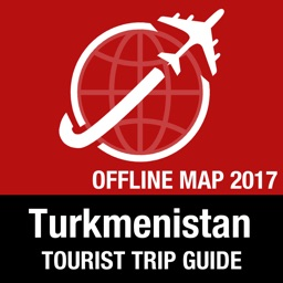 Turkmenistan Tourist Guide + Offline Map
