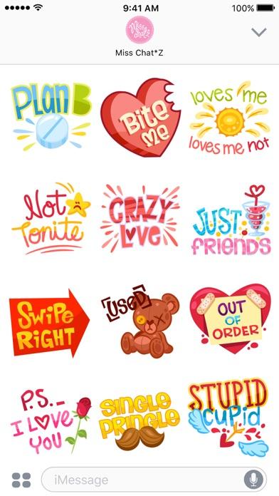 Flirty Sticker Set screenshot two