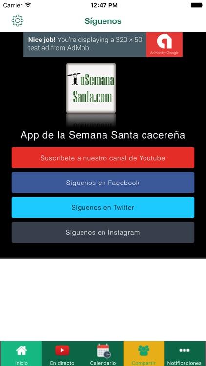 Semana Santa Cáceres screenshot-3