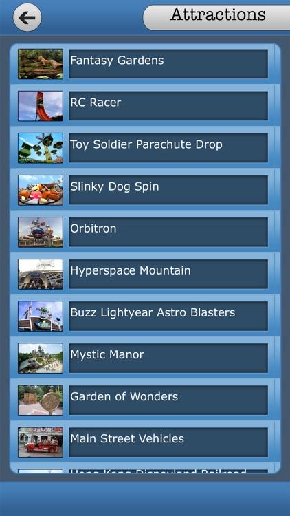 Great App To Hong Kong Disneyland screenshot-3