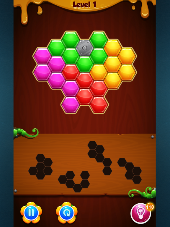 Ipad Screen Shot Hexa Puzzle Fun And Easy 2