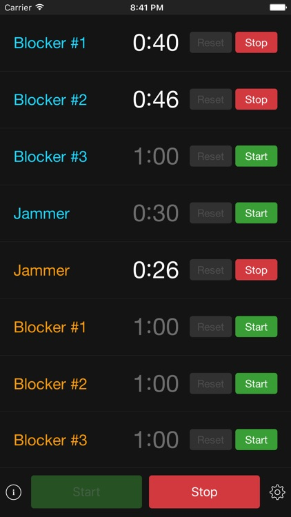 PenaltyTimer screenshot-2