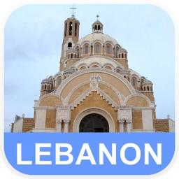 Lebanon Offline Map - PLACE STARS
