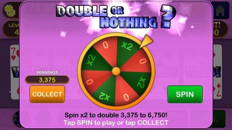 Video Poker Jackpot! - The original and best. screenshot-3