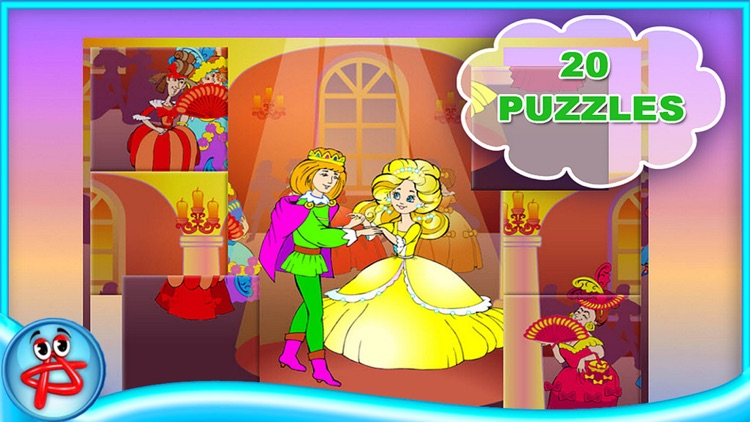 Cinderella Classic Fairy Tale: Book for Kids screenshot-4