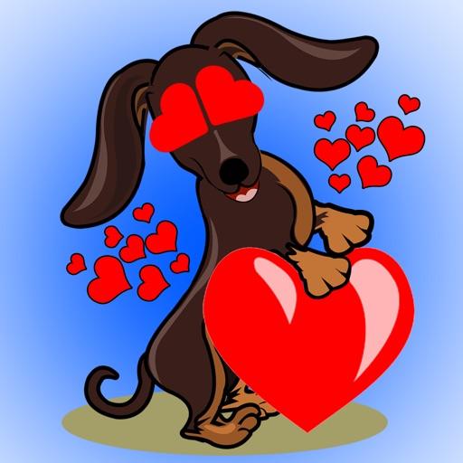 DoxieMoji - Dachshund Love Weinermoji & Stickers