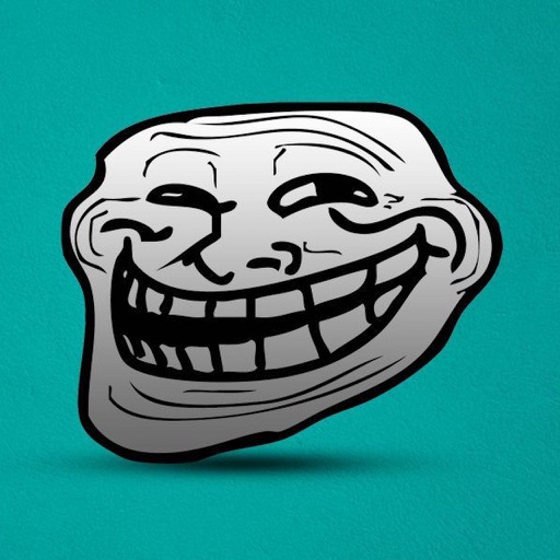Troll Sticker