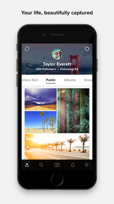 Screenshot 0 for Flickr's iPhone app'