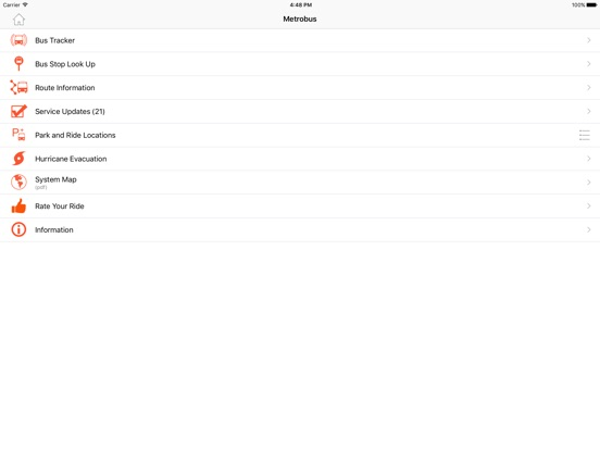 MDT Tracker iPad