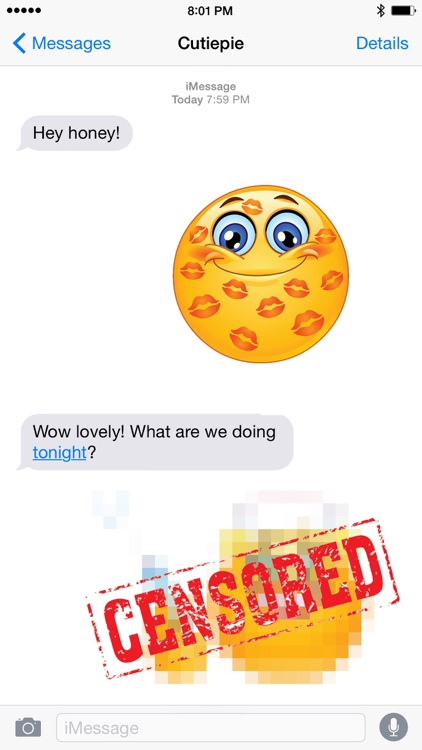 Sexy Adult Emojis for Texting screenshot-3